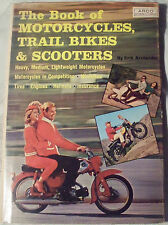 1965 Erik Arctander signed book The Book of Motorcycles Trail Bikes and Scooters