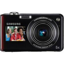 Samsung TL210 12.4MP Digital Camera - Black & Red