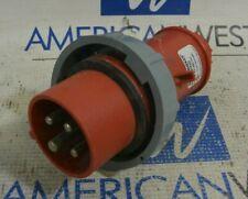 Mennekes ME 420P7W Electrical Plug 20A 3P 4W 480VAC