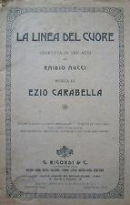 """TEATRO MUSICA OPERETTA """"LA LINEA DEL CUORE"""""""