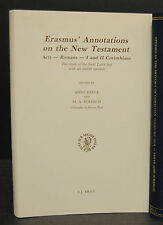 Reeve -  Erasmus' Annotations on the New Testament – Faksimile 1890