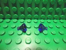 Lego 2 Trans Purple 1x1 gem jewel NEW