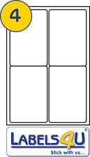 100 Sheets 4 A4 Address Labels 99.1 x 139 mm L7169