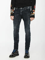 Diesel Sleenker Mens Slim Skinny 084VR Stretch Jeans Dark Blue W27 L30