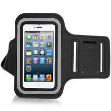 Xaiox Jogging Armband Sport Arm Halterung Schutz Band iPhone 5s 5c SE in schwarz