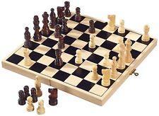 Folding wooden Chess High Quality Chess Set Folding 32cm X 32cm UK SELLER