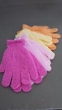 4 Paar Massage Handschuh Duschhandschuh Peelinghandschuh Massagehandschuh