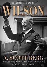 Wilson by A. Scott Berg WOODROW WILSON 28th President Unabridged 3 IPOD MP3 CDS