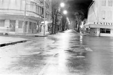 Photo. 1964. Saigon, Vietnam.  Tu Do Street - mandatory curfew period