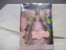 Barbie Rapunzel 2001 Nib With Musical Hairbrush & Hair That Grows Magically