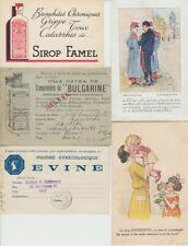 MÉDECINE MEDICAL incl. ADVERTISING 33 Cartes Postales 1900-1970