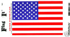 "UNITED STATES FLAG SELF ADHESIVE VINYL DECAL, 3.5"" X 5"""