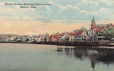 Spencer, Mass - Muzzy Meadow Pond & Adams Street