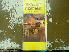 Vintage Travel Brochure - Virginia's Famous SKYLINE CAVERNS Front Royal - 1967