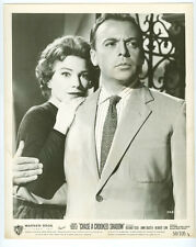 ANNE BAXTER, HERBERT LOM original movie photo 1958 CHASE A CROOKED SHADOW