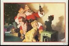1991 COCA-COLA POST CARD HAPPY HOLIDAY CIRCA 1964
