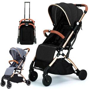 Foldable Baby Trolley Stroller Pushchair Pram Toddler Buggy  UK