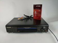 Panasonic Pv-8661 Vcr Vhs - Tested / Working - No Remote