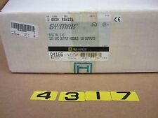 SQUARE D SY/MAX DIGITAL I/O OUTPUT MODULE ROM221 8030 SERIES G1  16 OUTPUT