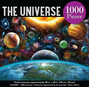 Universe Jigsaw Puzzle 1000 Piece game Space Mars Venus Earth Moon Jupiter Pluto