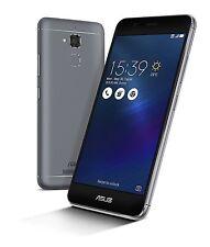 Asus ZenFone 3 Max Smartphone, Memoria Interna da 32 GB, Dual-SIM, Grigio Italia