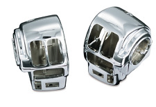 KURYAKYN CHROME SWITCH HOUSINGS FOR 1996-2013 HARLEY FLHTCU ELECTRA GLIDE ULTRA