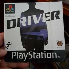 Booklet / Instruction Manual For Driver - PS1 SONY PLAYSTATION 1 - FREE POST