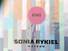 Sonia Rykiel-Maison~King Pillow Sham~Percale~Alize~New w/tags-