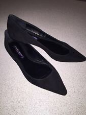 NEW Ralph Lauren Collection Purple Label Women suede shoes Size 38B