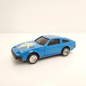 Vintage MC Toy Nissan 300 ZX Blue 1/45 Pull Back Motor Macau HTF