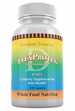 1 FlexProtex D Joint Pain Relief Arthri Flex Protex 120 Capsules Exp 07/2020