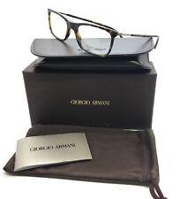 1ac694c27e76 Giorgio Armani Tortoise Eyeglasses AR 7085 5026 52 mm Designer Demo Lenses