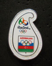 2016 RIO NEW Olympic AZERBAIJAN NOC  Internal delegation STAFF swirl pin