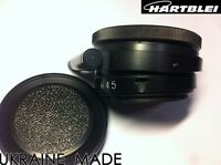 Hartblei Pentacon Six 6 P6 Kiev 60 88CM Lens to Mamiya 645 Adapter with Tilt 6°