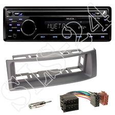 Mueta a4 USB SD CD radio + renault megane scenic diafragma grises + adaptador ISO + antena