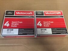 (Set of 8) Genuine OEM Ford Motorcraft Spark Plugs SP-546 (NEW)