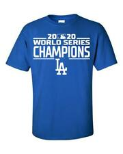 Los Angles Dodgers LA 2020 World Series Champions T-Shirt - S-5XL