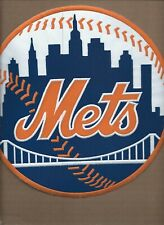 NEW 10 INCH NEW YORK METS IRON ON PATCH FREE SHIPPING P1