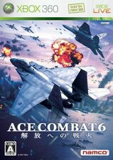 USED Ace Combat 6: Fires of Liberation Japan Import Xbox 360