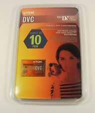 Vintage Tdk 10-pack Dvc tapes - new in pack