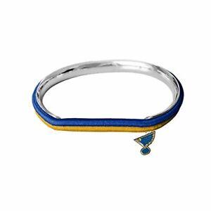 ST LOUIS BLUES NHL TEAM Women's Hair Tie Bangle Bracelet Licensed NEW NWT