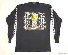 METALLICA Vintage T Shirt 90's Tour Concert 1997 Gimme Fuel HARD ROCK BAND LS L