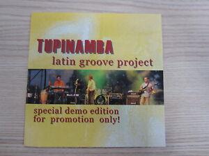 CD / TUPINAMBA - LATIN GROOVE PROJEKT /   PROMO  / AUSTRIA / RARITÄT /