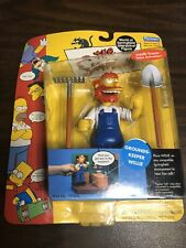 "PLAYMATES SERIES 4 SIMPSONS WORLD OF SPRINGFIELD ""GROUNDS KEEPER WILLIE"" (BK2)"