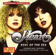 HEART New Sealed 2018 UNRELEASED LIVE 1976 CONCERT CLEAR COLORED VINYL RECORD