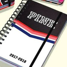 1 VICTORIA'S SECRET PINK CHEVRON PLANNER 2017-2018 SCHOOL COLLEGE WORK GYM
