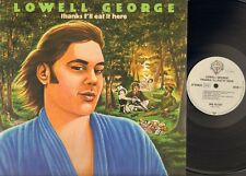 LOWELL GEORGE Thanks I'll Eat It Here LP 1979 incl Innersl LITTLE FEAT Related