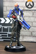 Blizzard OverWatch Soldier 76 Commander Jack Morrison Sprint Figure Statue Model