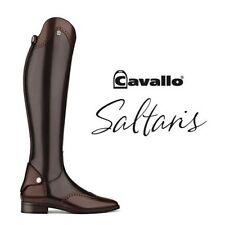 Cavallo Reitstiefel SALTARIS die neue Kollektion Gr.6    /49/41 MOCCA m. Akzente