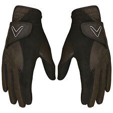 Callaway Mens Opti Grip Golf Gloves Pair Pack - Winter Storm Rain Warm